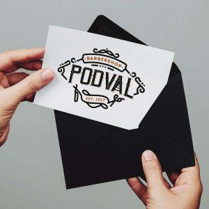 создание логотипа для барбершопа