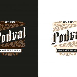 разработка логотипа для барбершопа