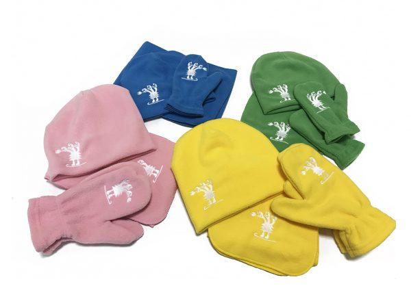 шапки и варежки с вышивкой